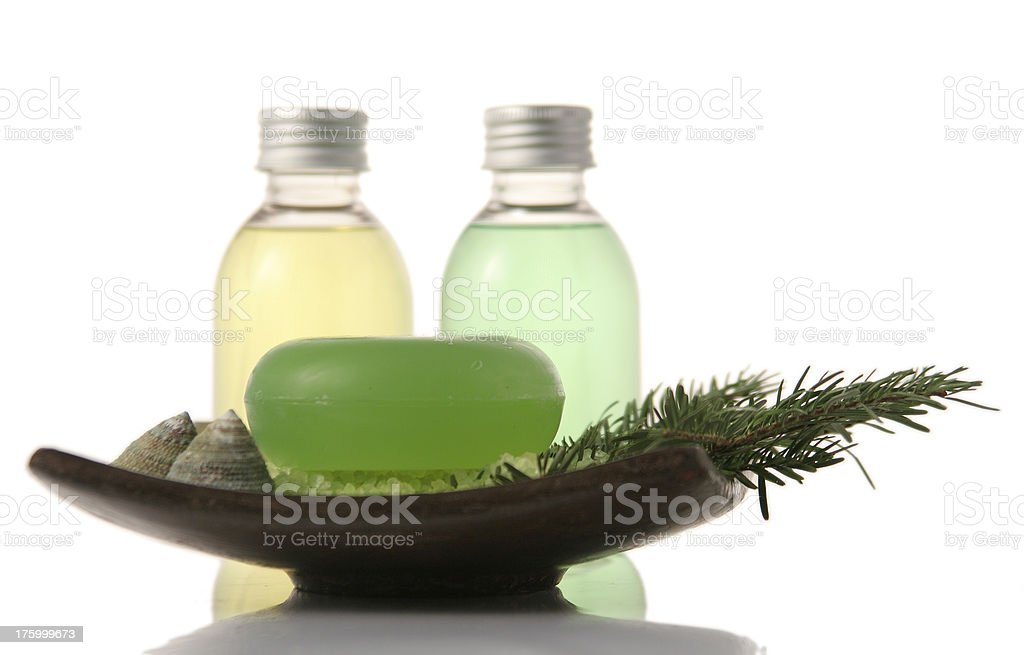 Beauty center products royalty-free stock photo