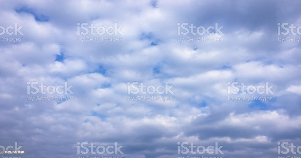 Beauty cloud against a blue sky background. Clouds sky. Blue sky with...