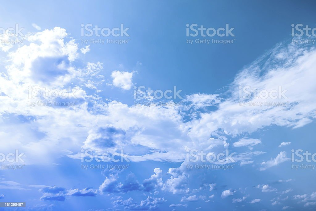 beauty cloud royalty-free stock photo