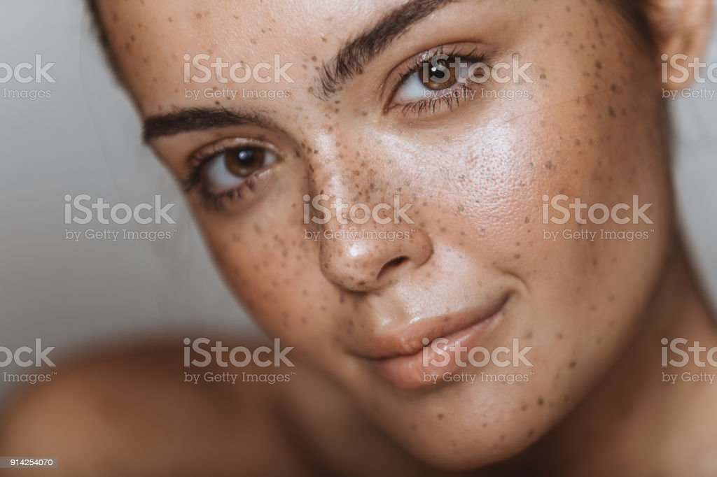 Beauty comes from within stock photo