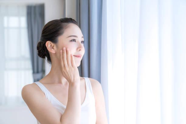 アジアの女性の美しさの概念。 - beauty and health ストックフォトと画像