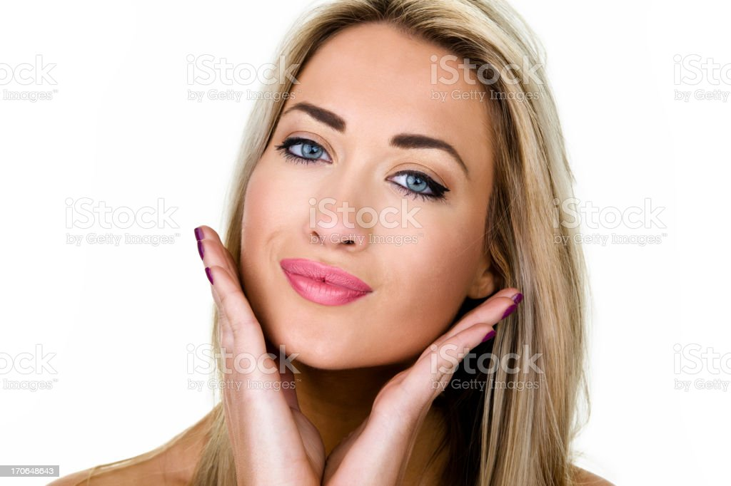 Beauty concept royalty-free stock photo