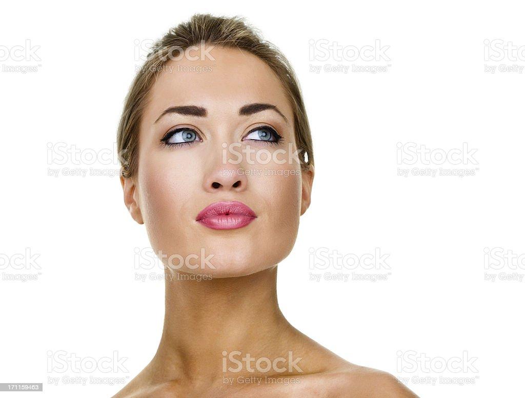 Beauty concept royalty-free stock photo