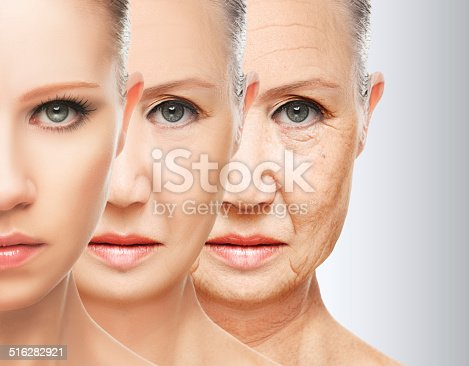 istock beauty concept skin aging. anti-aging procedures, rejuvenation, lifting, 516282921