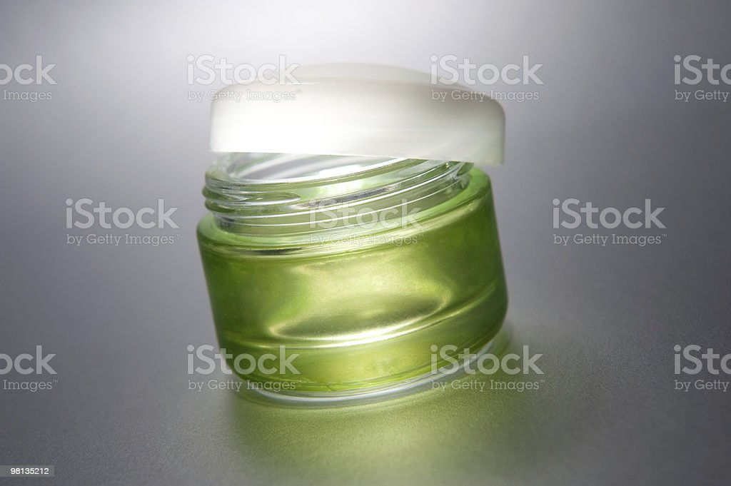 Crema di bellezza foto stock royalty-free