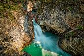 Waterfalls, Banff National Park, Alberta.