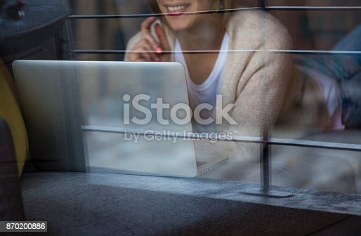 637756964 istock photo Beauty entrepeneur working at home 870200886