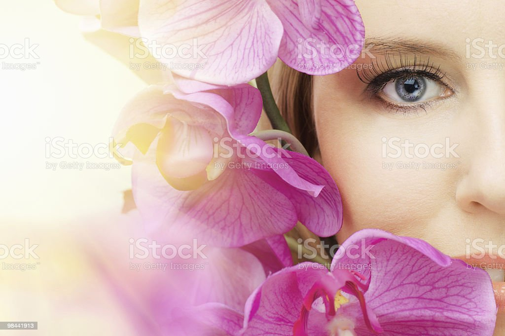 beauty eye royalty-free stock photo