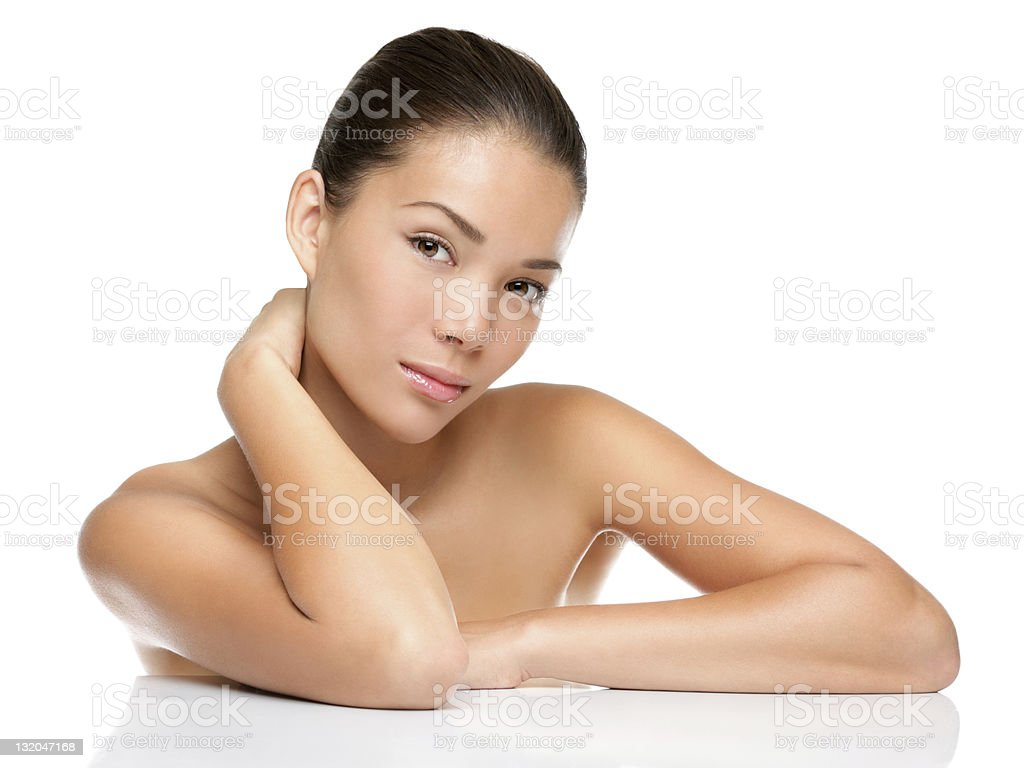 beauty face skin care woman royalty-free stock photo