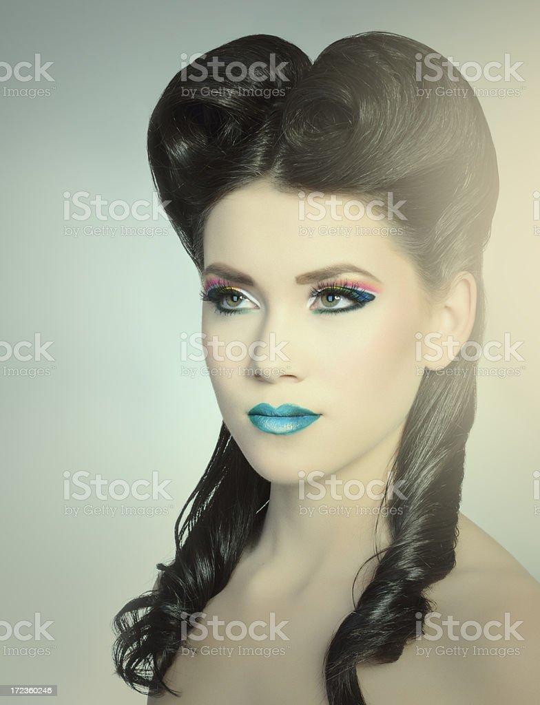 beauty fashion woman royalty-free stock photo