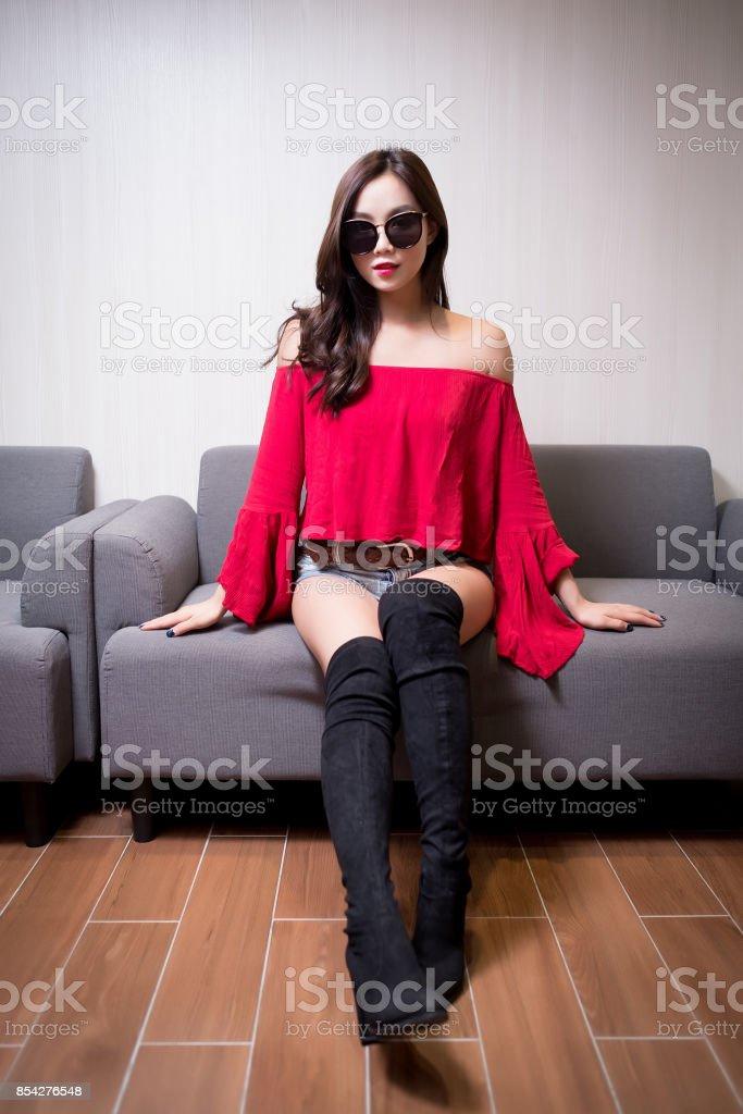 beauty fashion woman stock photo