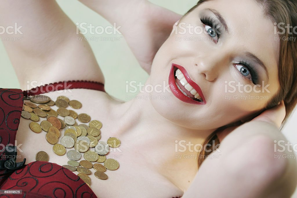 beauty for sale royalty free stockfoto