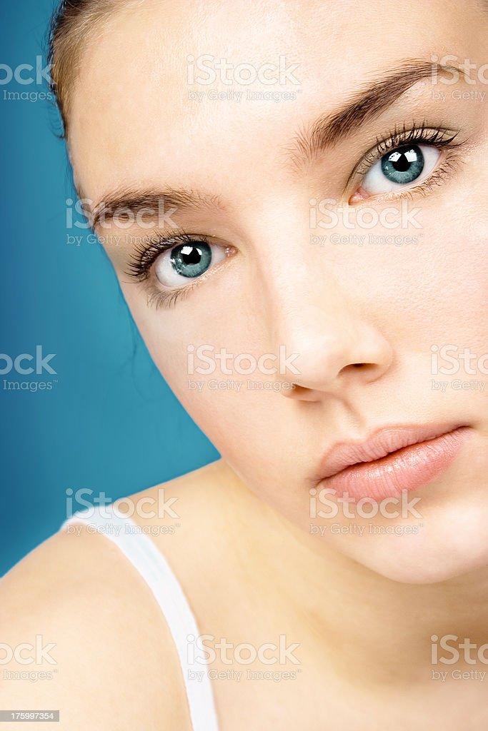 Beauty girl, close-up royalty-free stock photo
