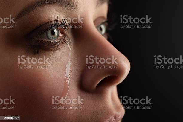 Beauty Girl Cry Stock Photo - Download Image Now