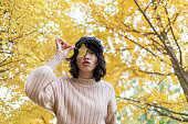秋の美少女