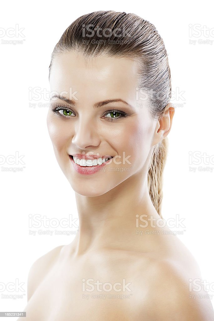 Beauty girl. royalty-free stock photo
