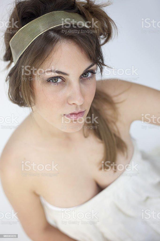 Ragazza di bellezza foto stock royalty-free