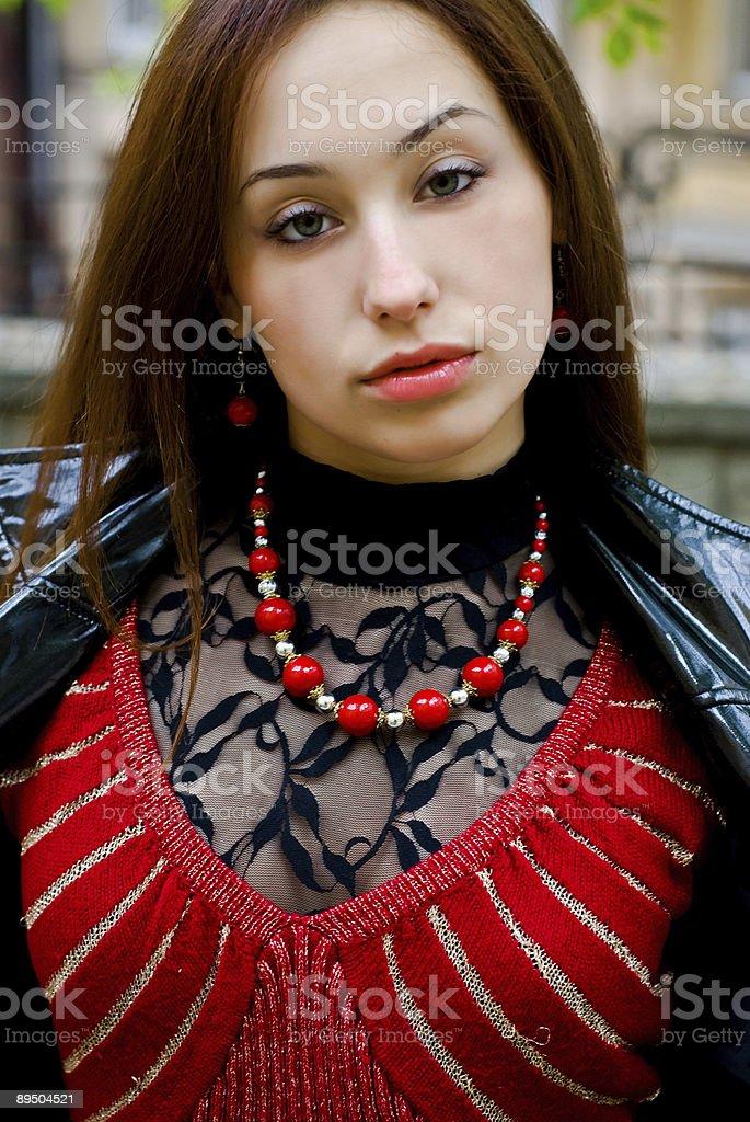 Bellezza ragazza Ritratto foto stock royalty-free