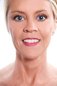 istock Beauty, Health. Beautiful blond woman. Head, shoulders. Spa. 465778228