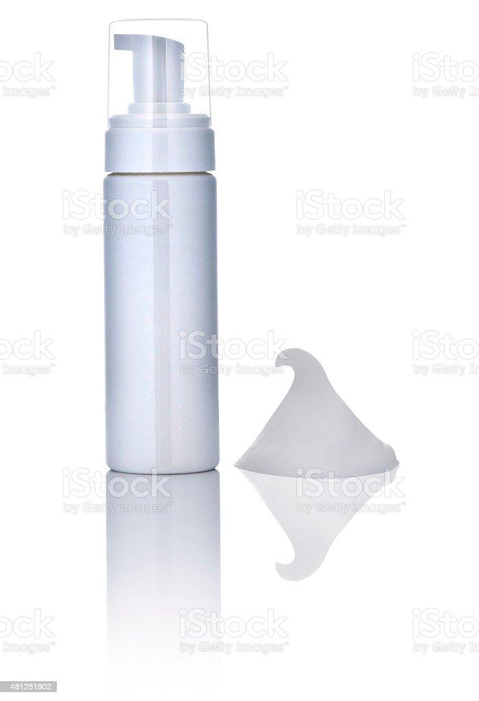 Beauty in a bottle stock photo