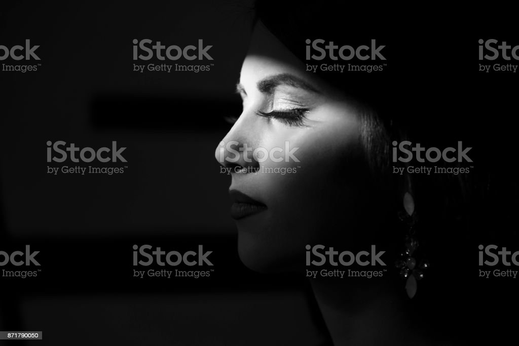 Beauty In Contrast stock photo