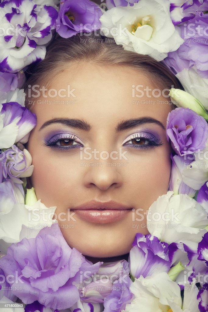 Beauty in flowers royalty-free stock photo