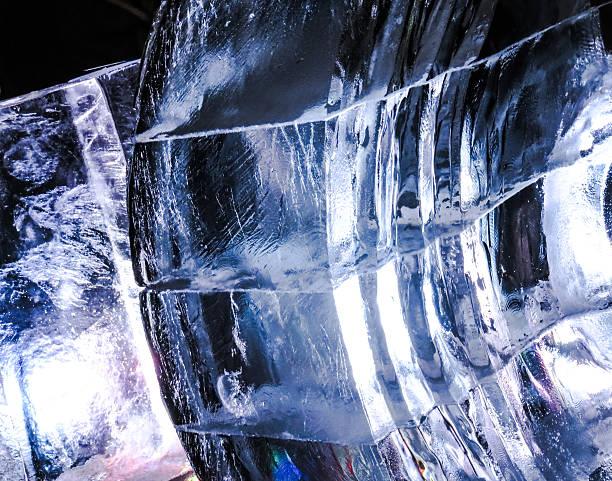 美で氷 - 彫刻 ストックフォトと画像