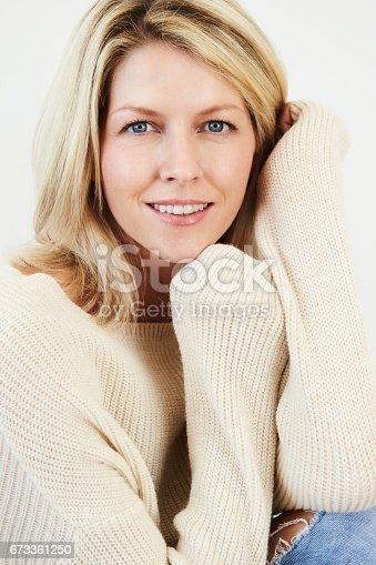 673361134 istock photo Beauty in knitwear 673361250