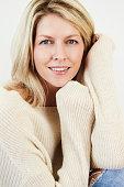 istock Beauty in knitwear 673361250
