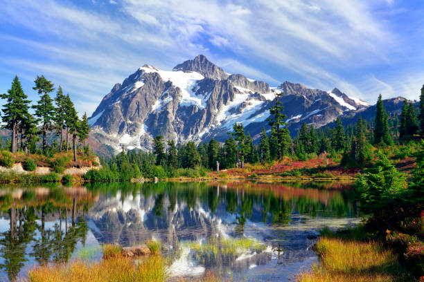 piękno natury - góry kaskadowe zdjęcia i obrazy z banku zdjęć