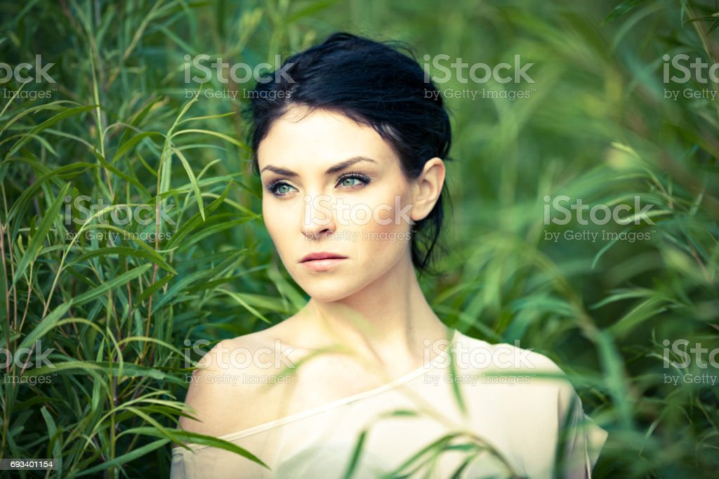 Royalty Free Black Hair Green Eyes Girl Pictures Pictures Images