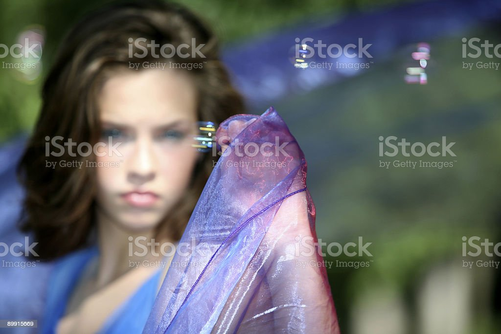 Beauty in the background royalty-free stock photo