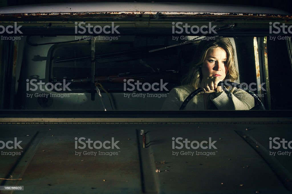 Beauty in the Breakdown stock photo
