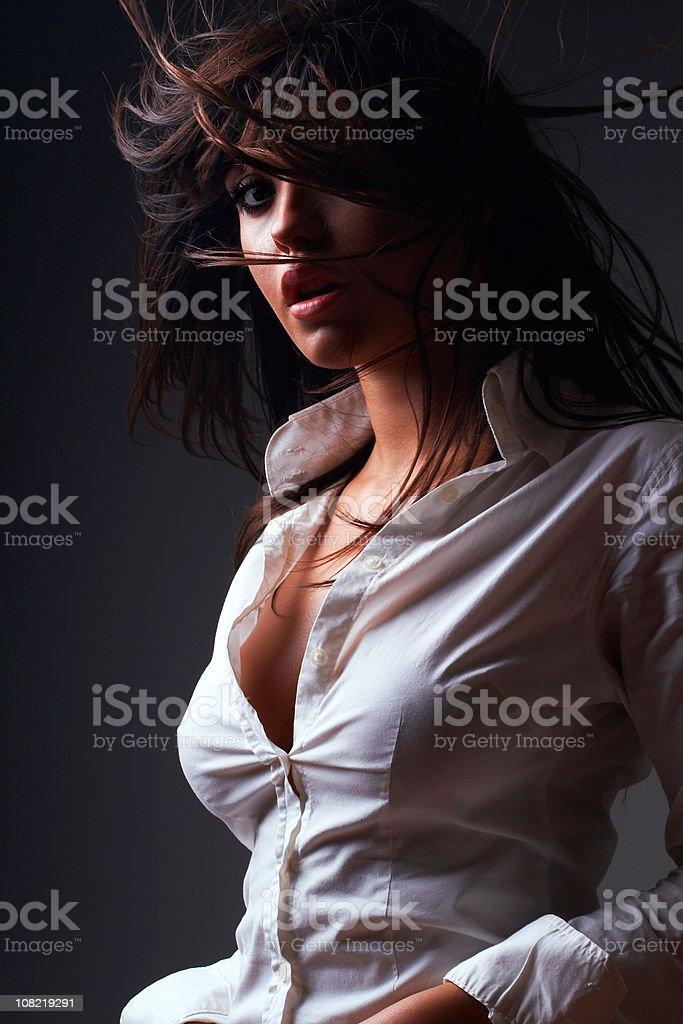 Beauty in the dark royalty-free stock photo