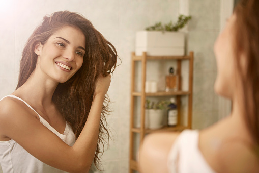 istock Beauty in the mirror 648753342