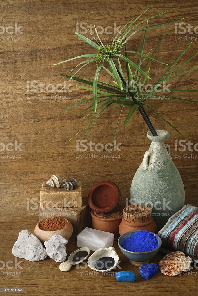 Beauty in the past 2. royalty-free stock photo