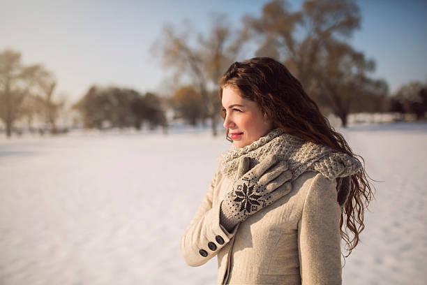 beauty in winter walk - kalte sonne stock-fotos und bilder