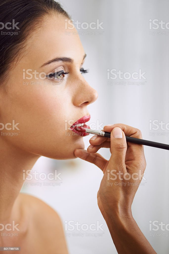 Beauty is a process royalty-free stock photo