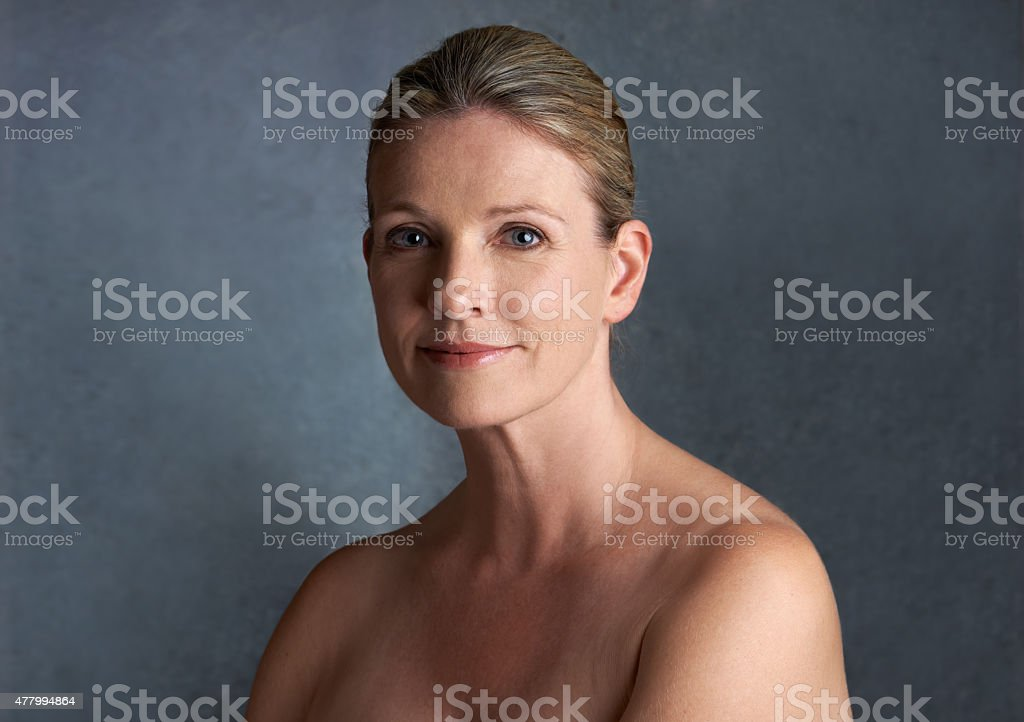 Beauty is ageless stock photo