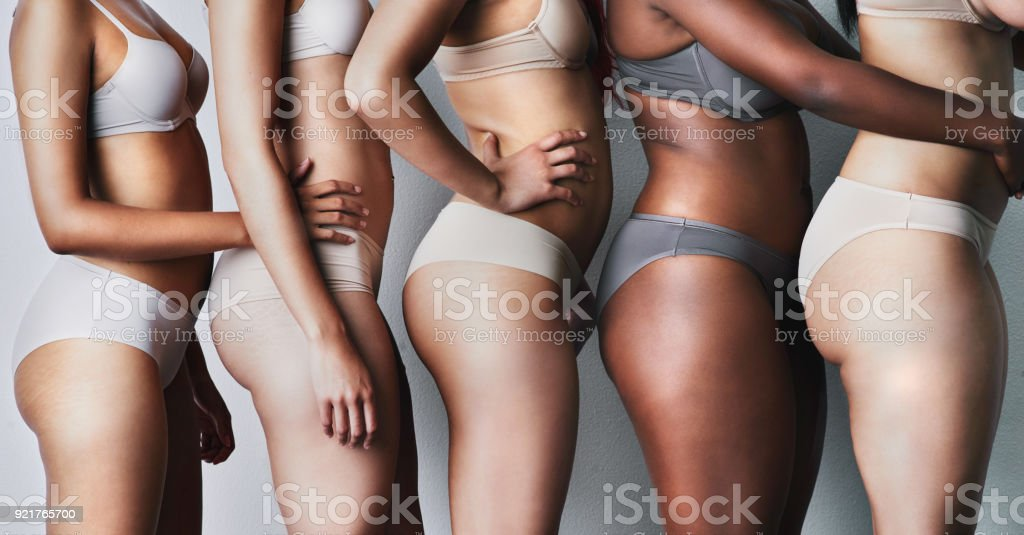 Beauty is skin deep stock photo
