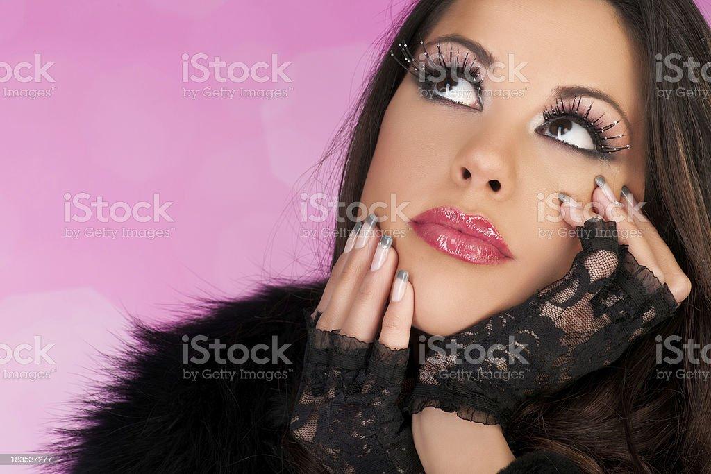 Beauty Look royalty-free stock photo