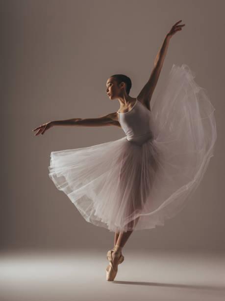 Beauty of ballet stock photo
