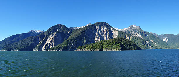 Beauty of Chilean fjords: Aysen fjord and Channel Moraleda. – Foto