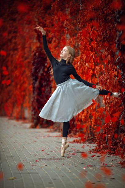 Schönheit des klassischen Balletts. – Foto