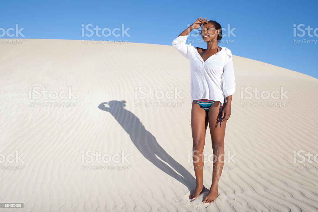Bellezza delle dune foto stock royalty-free