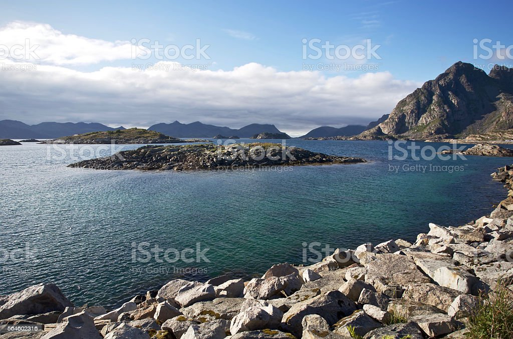 Beauty of Lofoten stock photo