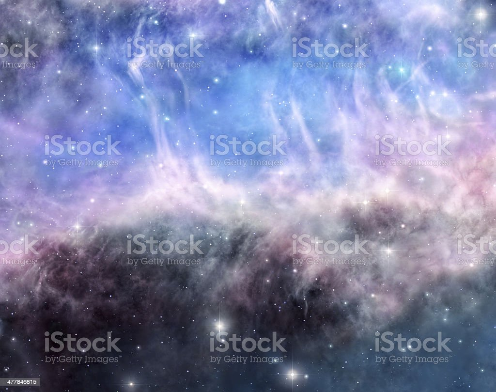Beauty of space stock photo