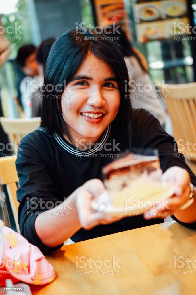 Beauty of Thai Girl zbiór zdjęć royalty-free