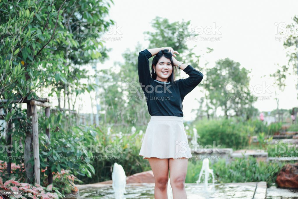 Beauty of Thai Girl royalty-free stock photo