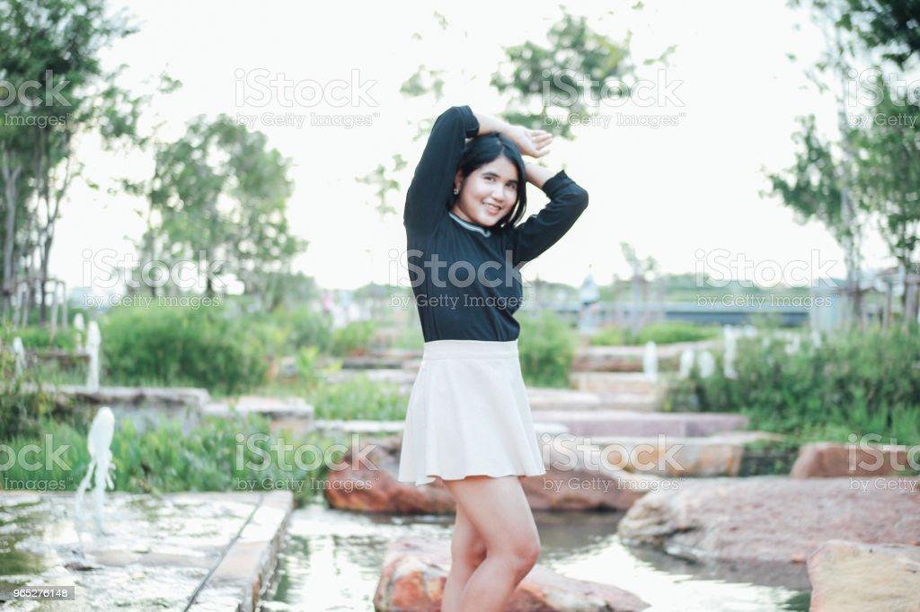 Beauty of Thai Girl royalty-free stock photo